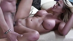 MILF gets a young pussy and a good facial