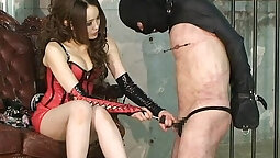 Babe succumbs to extreme anal sex