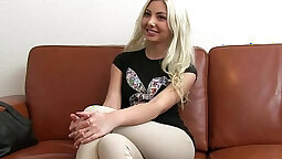 Blonde teen Jennifer fuck every hole