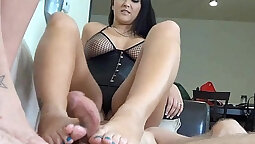Foot Traffic Double dose of his dick
