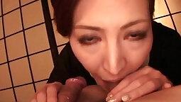 Aki Kobayashi - Homemade Japanese Blowjob Video