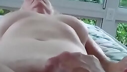 Granny is so fingered she cant stop fucking