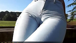 Hot Spanish Teen Gets Stuffed In Any Cameltoe