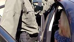 Blonde big black cocks Fucking Ms Police Officer
