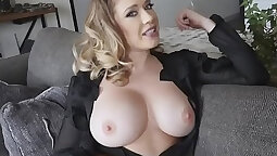 Eustisious lingerie bbw milf gets her roundy pierced pussy pounded hard