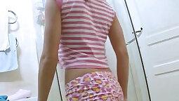Catie Dee - Fat Cock Cum on Pussy