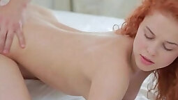 Red-haired chicks cum in porn