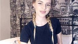 19yo teen bath on live webcam
