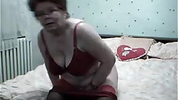 Grandmother fucked this big dick